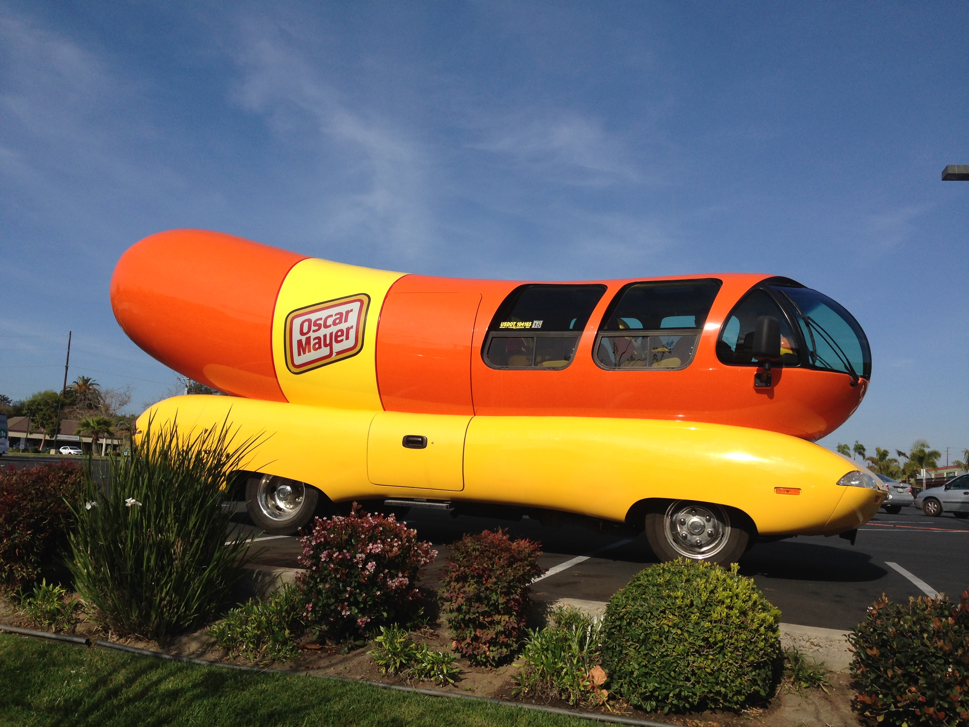 292641 likewise Feast Wienermobile Takes San Diego Ride besides Disneyland Half Marathon Packing List moreover Oscar Mayer Weinermobile At Crossroads Walmart In Victorville further Heres What Its Like To Be A Hotdogger And Drive A Wienermobile. on oscar mayer wienermobile ride