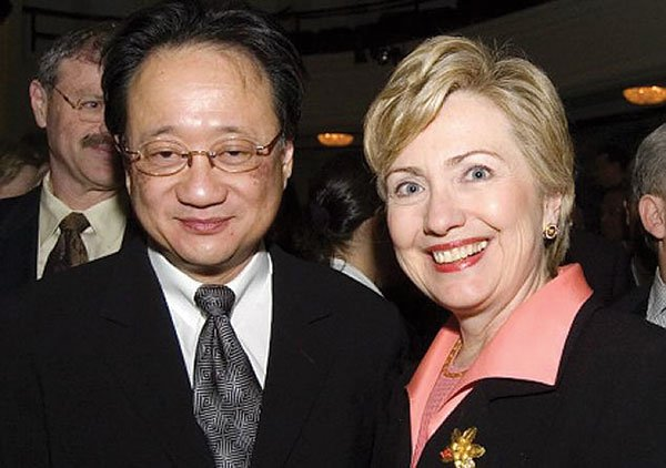 Norman Hsu and Hillary Clinton