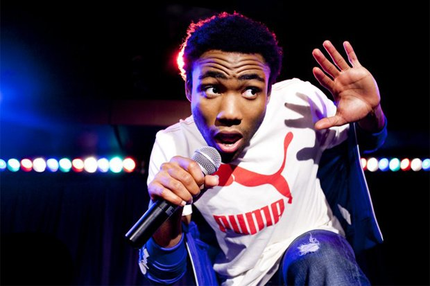 Hip-hop comic Childish Gambino takes the stage at the Open Air Theatre (SDSU) Monday night.