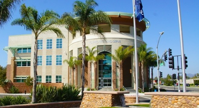Escondido police HQ