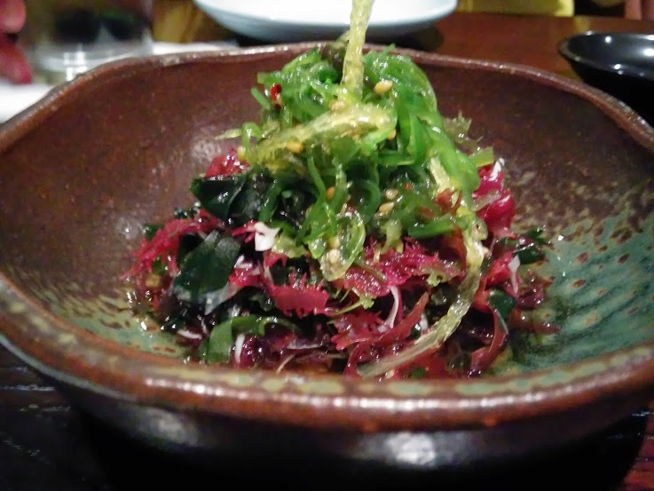 A perfect seaweed salad