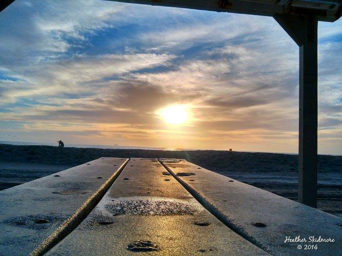 Silver Strand Sunset