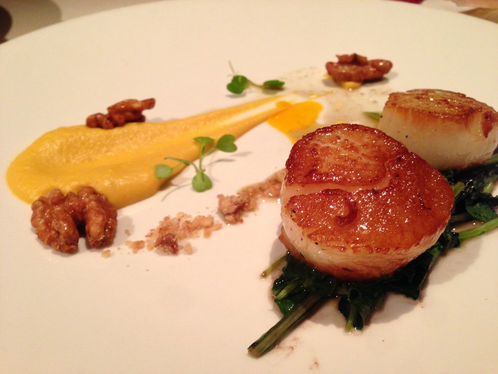 Splendid scallop appetizer