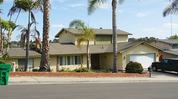 Asher Freeman was found dead in this Carlsbad home he shared with David Diaz.