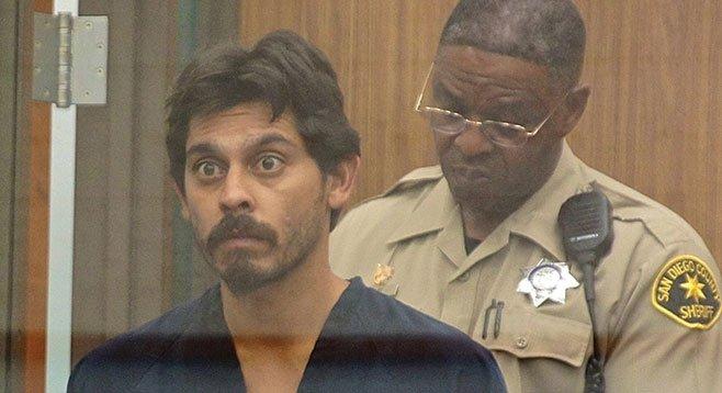David Diaz in court