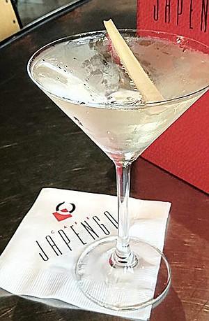 White Geisha at Cafe Japengo