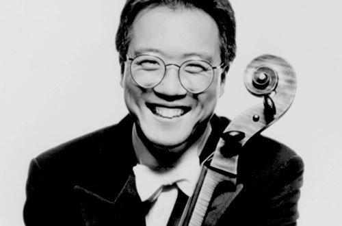 Master cellist Yo-Yo Ma will tear it up at Copley on Wednesday.