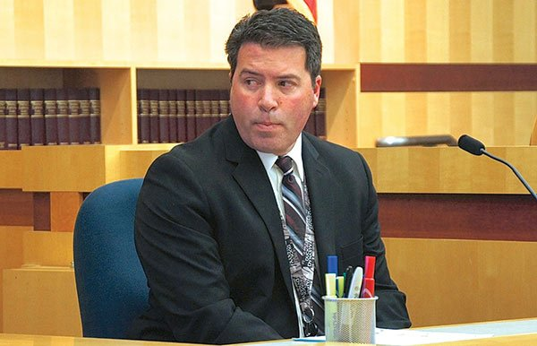 Detective Stallman testified that Diaz claimed not to have entered Asher's room. DNA evidence indicated otherwise.