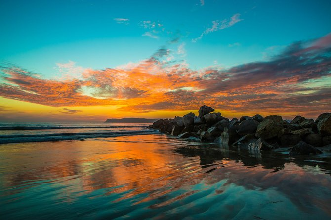 Sunset in Point Loma, San Diego by Gigante Imagery.