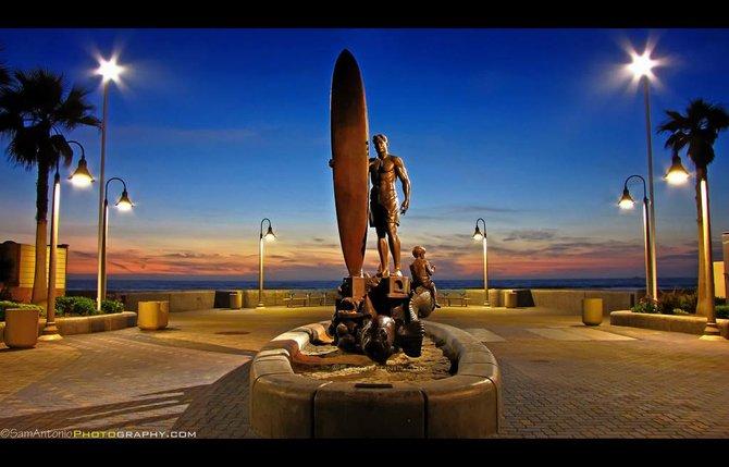 Spirit of Imperial Beach Statue by Sam Antonio