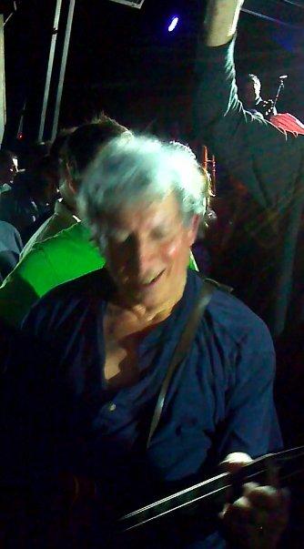 Guitarist Elvin Bishop snakes his way through a thrilled Belly Up crowd.
