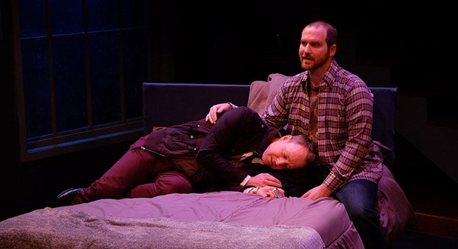 Andrew Oswald and Anthony Methvin in Boys and Girls.