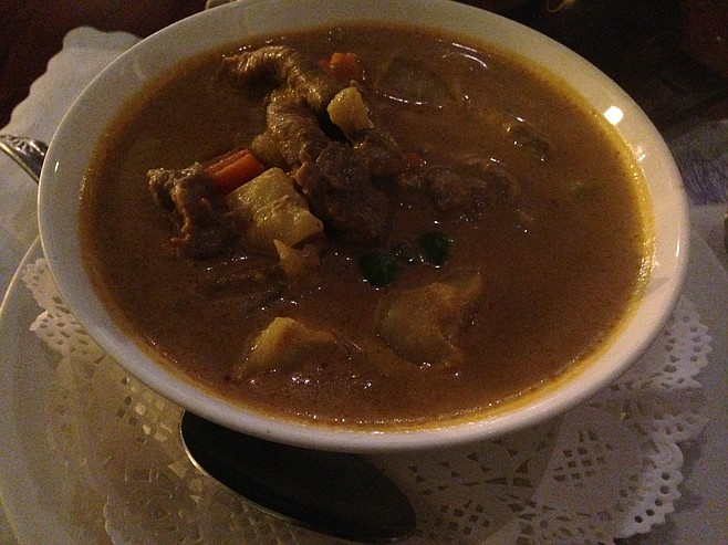 Yellow Beef Curry
