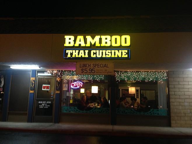 Bamboo Thai Cuisine in La Mesa