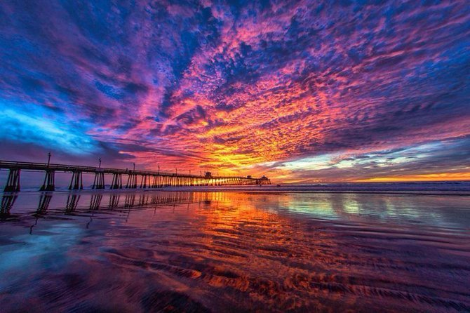 Imperial Beach Sunset by Alex Pina.