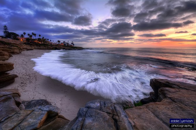 La Jolla Shoreline by Eddie Yerkish.