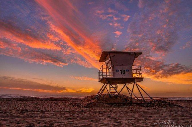 Tower 19 at Mission Beach by Alex Baltov.