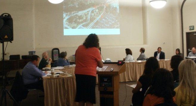 Vicki Estrada explains the plan