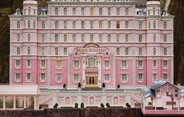 The Grand Budapest Hotel: A big pink confection