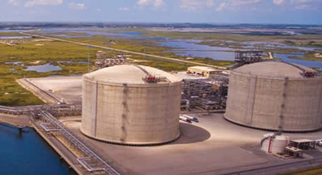 The FBI said that Sempra may have violated the Foreign Corrupt Practices Act to get this liquid natural gas plant built near Ensenada.