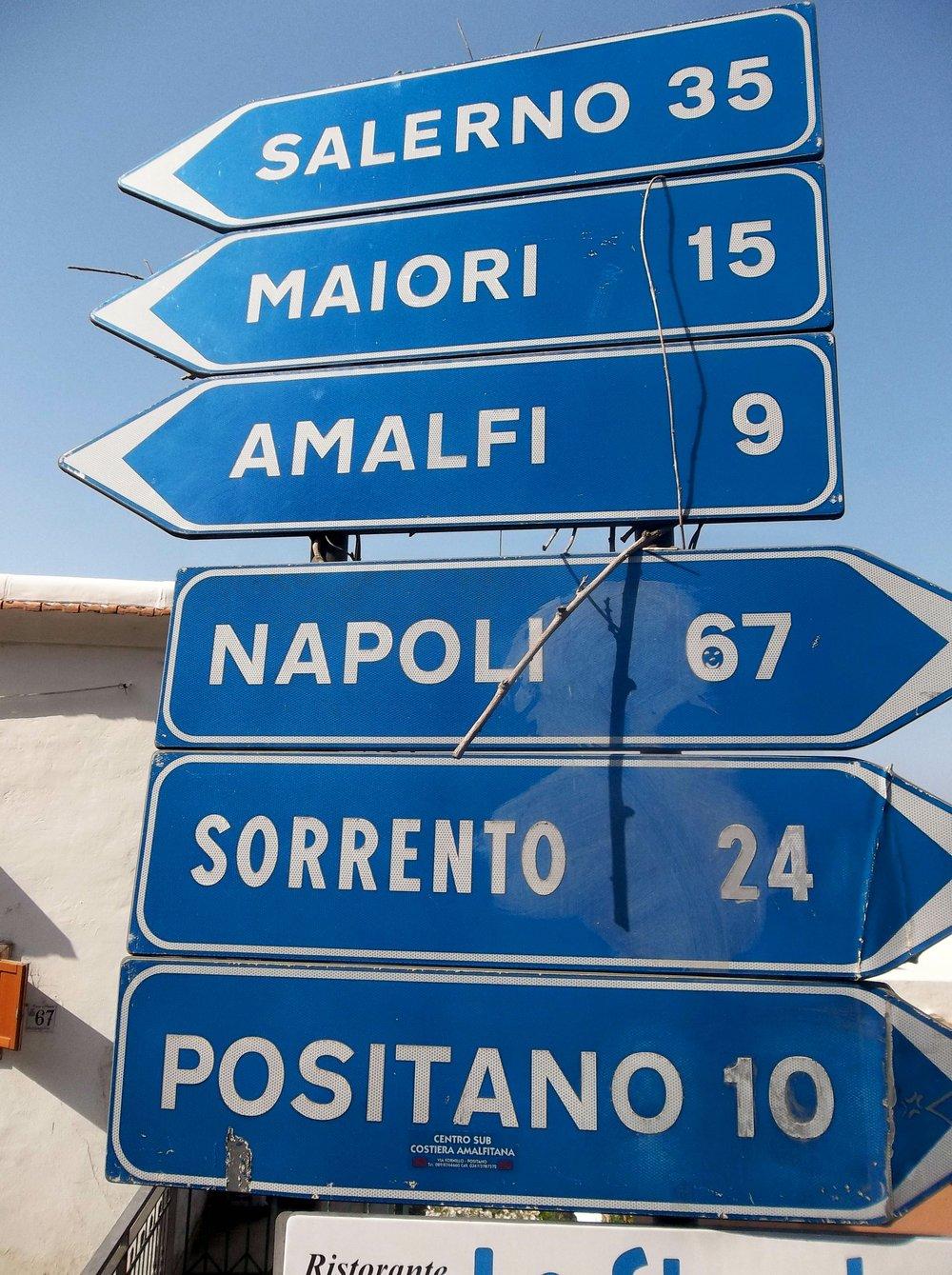 Amalfi Coast... somewhere.
