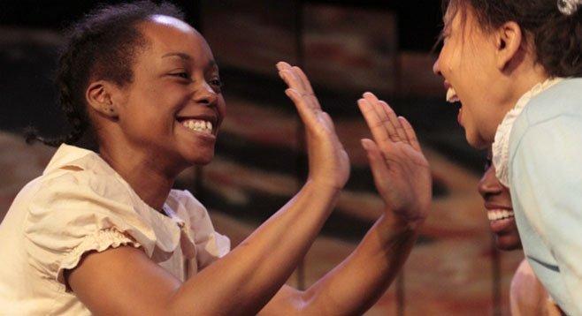 Cashae Monya, Lorene Chesley in The Bluest Eye - Image by Daren Scott