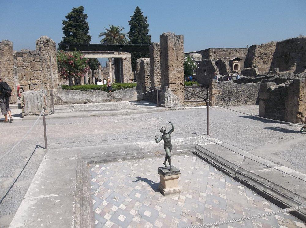 Pompeii's House of the Faun.
