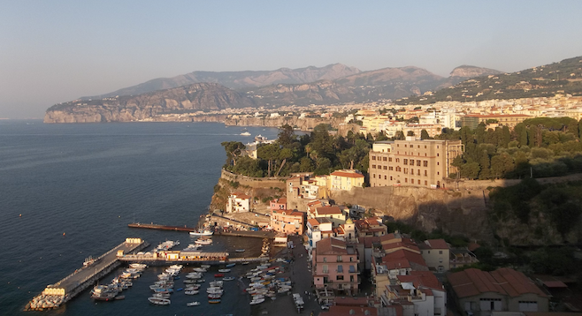 Sorrento in the late afternoon sun.