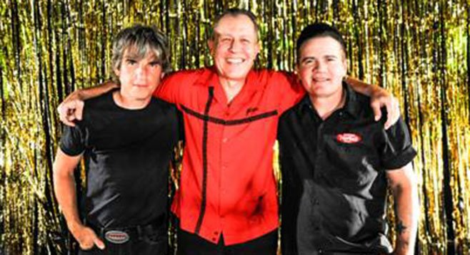 Thirty years later, Reverend's trio is still bringing that crazy rockabilly.