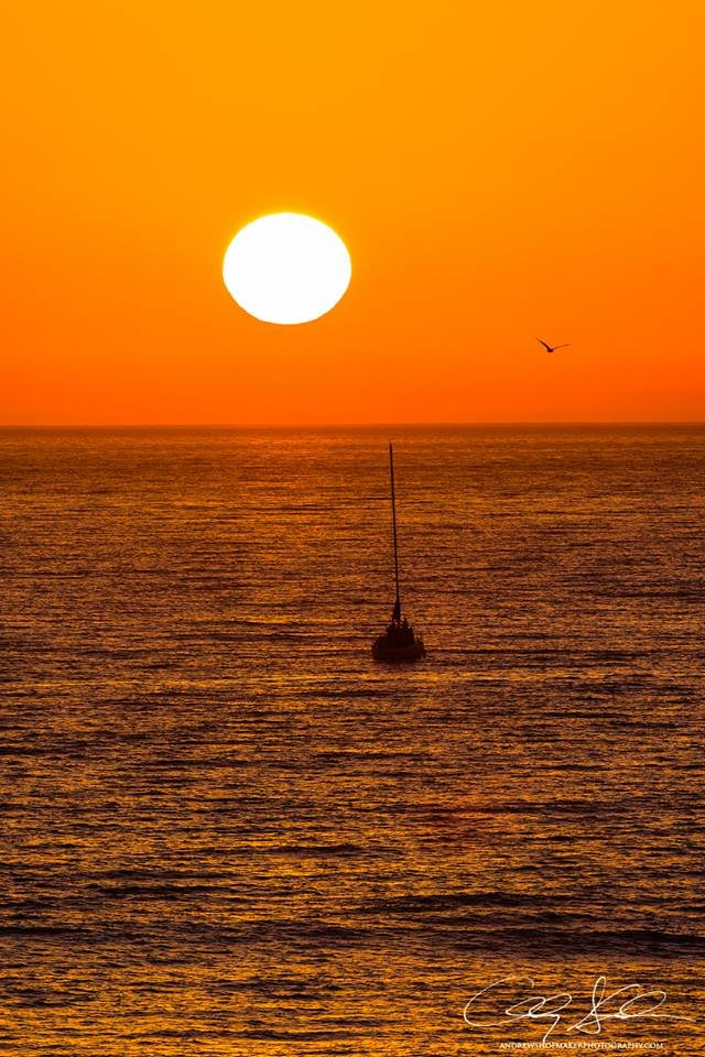 Sunset in Carlsbad by Andrew Shoemaker.