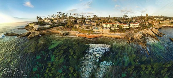 The view over La Jolla by Dale Porter.