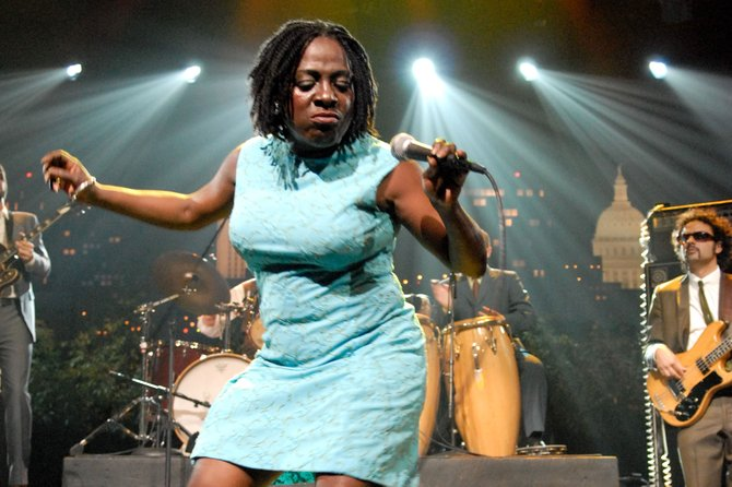 Soul sister Sharon Jones and her Dap Kings will do their thing at House of Blues Saturday night