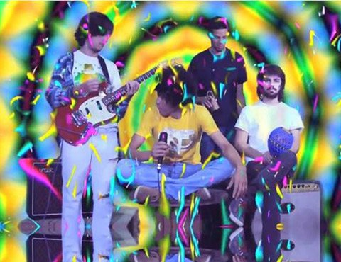 Tropicalismo psych-pop band Boogarins will be at Tower Bar Friday night.