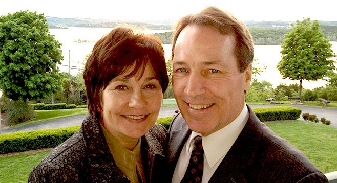 Elder Gary Sabin and his wife Valerie Sabin