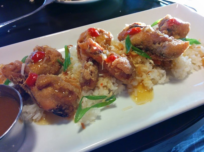 Chicken wings.  So delicious.  So few.