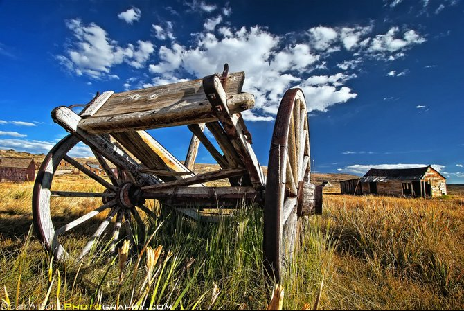 """Abandoned Wagon"" Bodie State Historic Park - Bridgeport, CA. ©Sam Antonio Photography"