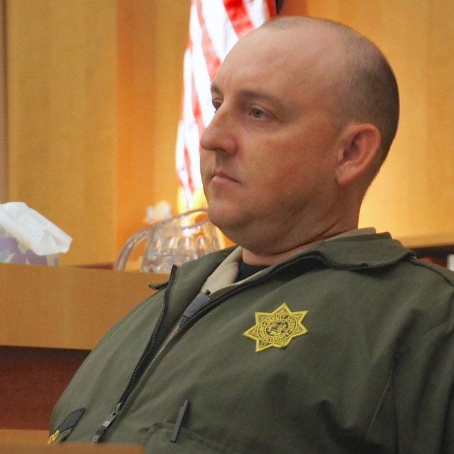 Deputy Brian Baydo found two suspects. Photo by Eva