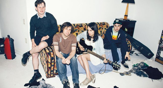 Speedy Ortiz races into Casbah ahead of indie idol Stephen Malkmus.