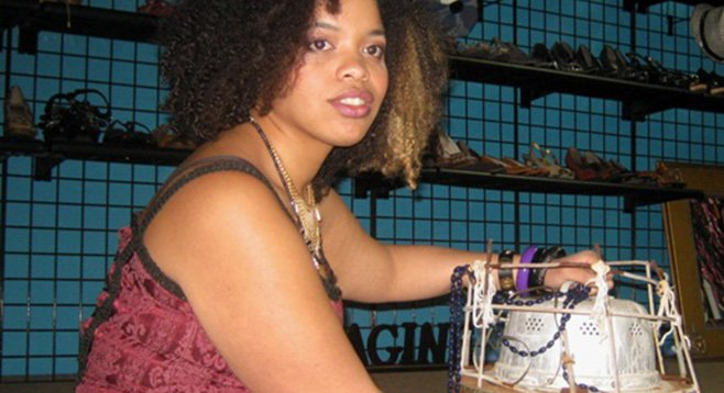 "Thrift Trader manager Keme Chambers and her ""Instrument of Disaster"""