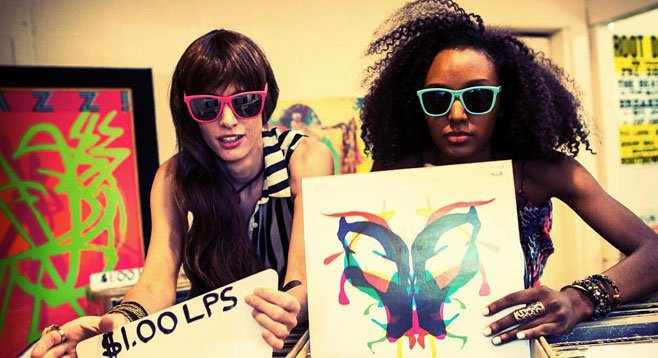 Tribal dance-pop party of two, Okapi Sun, releases Techno Prisoners.
