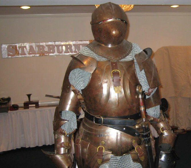 The RoboCop of the dark ages was known as CopperCop.  Caption by Jay Allen Sanford