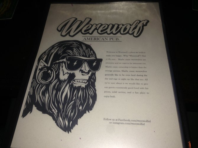 And the food's better than the menu artwork would suggest.