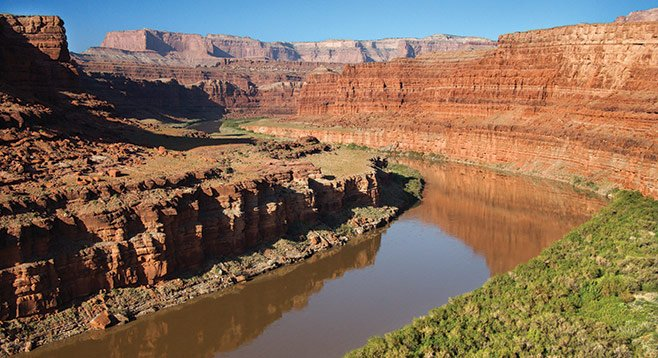 The Colorado River provides 29 percent of San Diego County's water. Drought, dams, and supplying water to parts of three states have reduced the flow to a trickle in places.