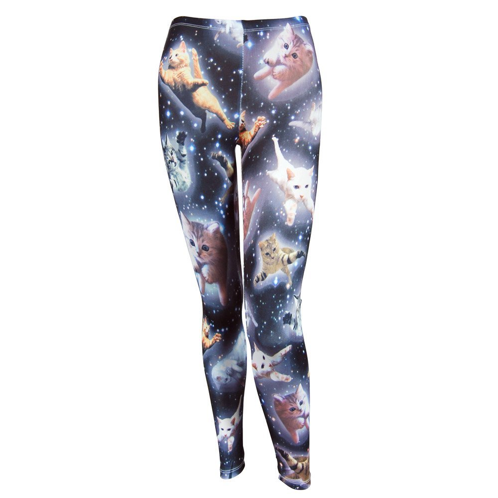 Space cat leggings