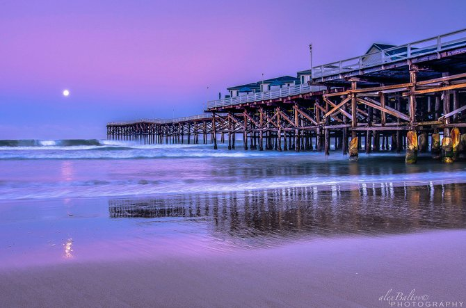 Photo crystal pier by alex baltov san diego reader for Crystal pier fishing