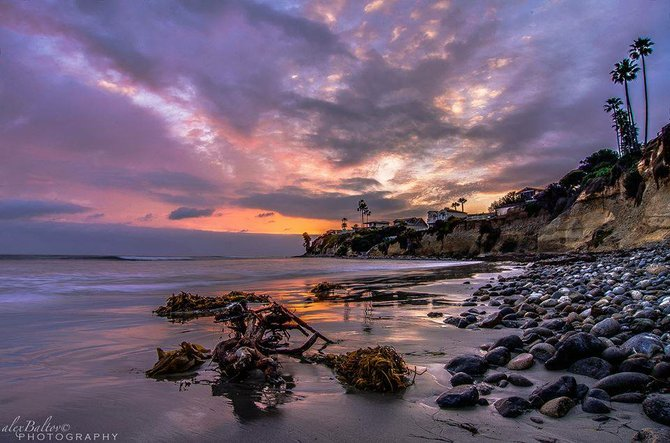 PB Point at sunset by Alex Baltov.