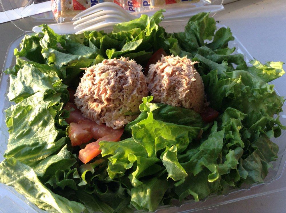 The salad
