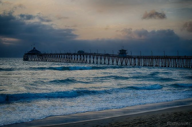 Imperial Beach Pier by T.Sutlick Photography.