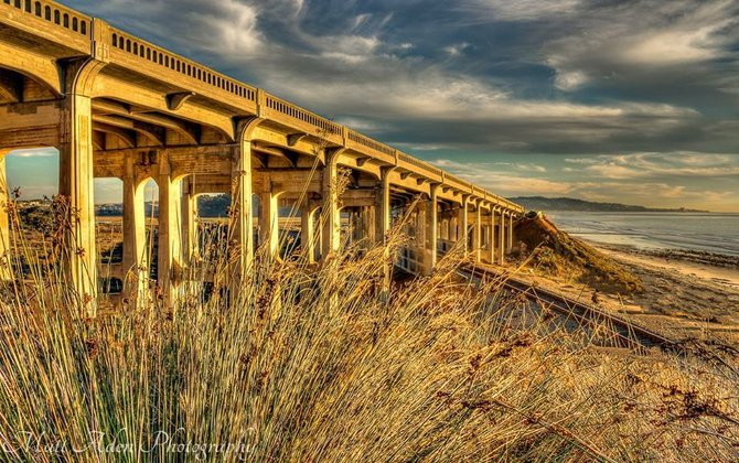 North Torrey Pines Bridge by Matt Aden Photography.