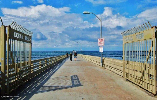 Ocean Beach Pier by San Diego Scenic Photography